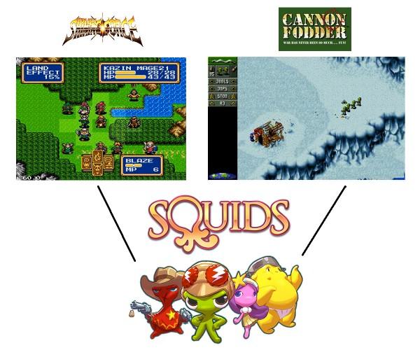 Squids inspiration