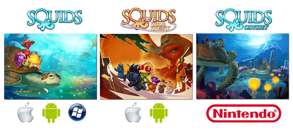 Squids versions and platforms